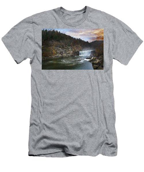 Cumberlland Falls Men's T-Shirt (Athletic Fit)