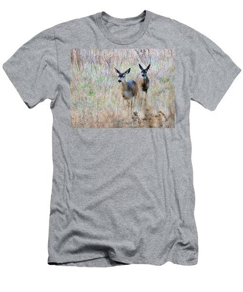 Curious Duo Men's T-Shirt (Athletic Fit)