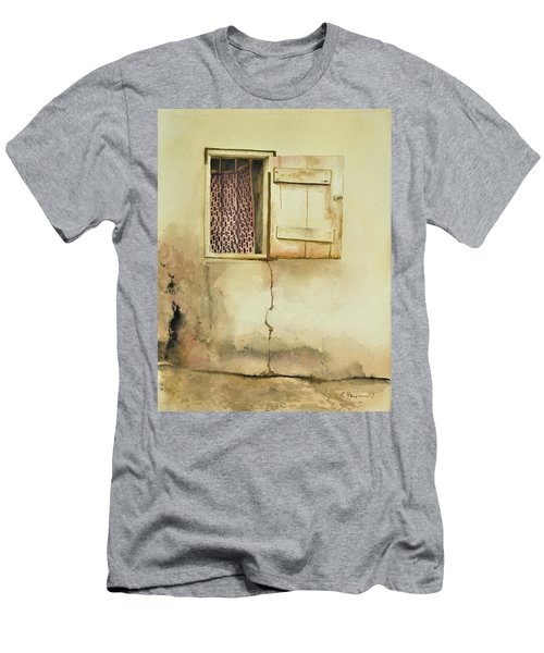 Curtain In Window Men's T-Shirt (Athletic Fit)