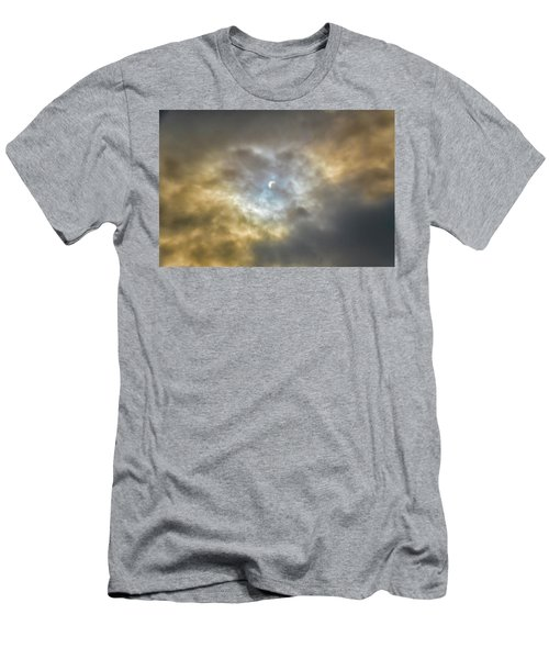 Curtain Of Clouds Eclipse Men's T-Shirt (Athletic Fit)