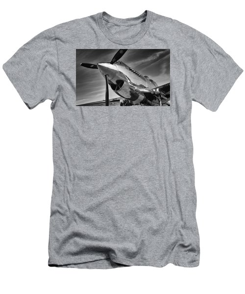 Curtiss P-40c Warhawk Men's T-Shirt (Athletic Fit)