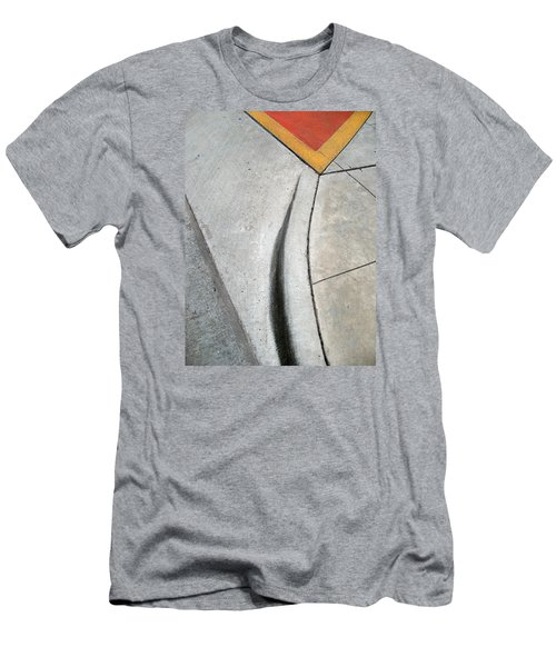 Red Triangle Men's T-Shirt (Athletic Fit)