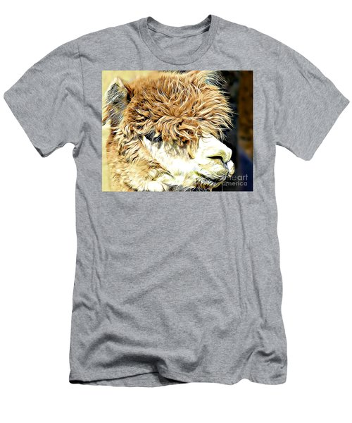 Soft And Shaggy Men's T-Shirt (Slim Fit) by Kathy M Krause
