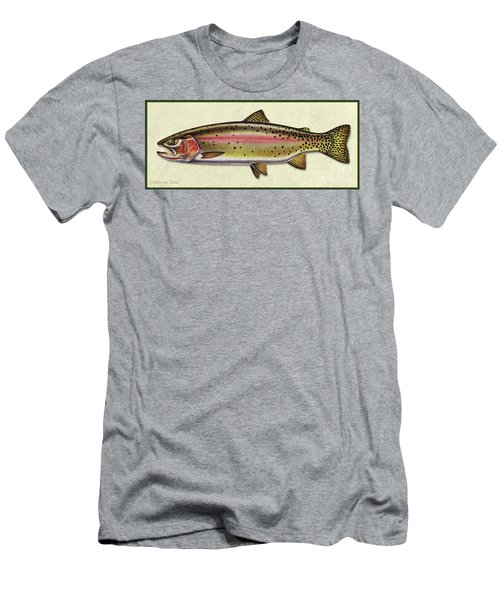Cutthroat Trout Id Men's T-Shirt (Athletic Fit)