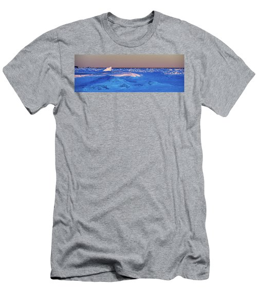 Men's T-Shirt (Athletic Fit) featuring the photograph Cutting Edge by Doug Gibbons
