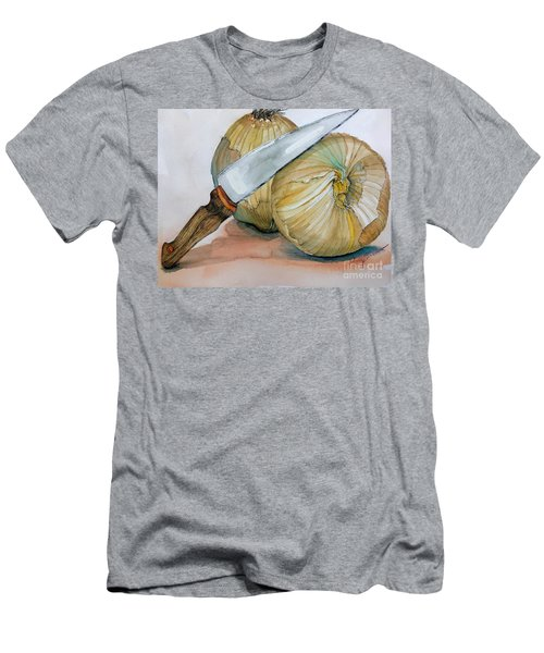 Cutting Onions Men's T-Shirt (Athletic Fit)
