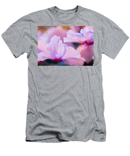 Men's T-Shirt (Slim Fit) featuring the photograph Cyclamen by Cathy Donohoue