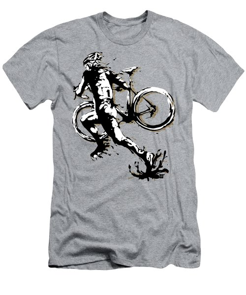 Cyclocross Poster1 Men's T-Shirt (Athletic Fit)