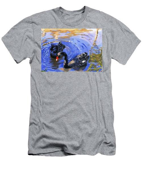 Cygnus Atratus Men's T-Shirt (Athletic Fit)