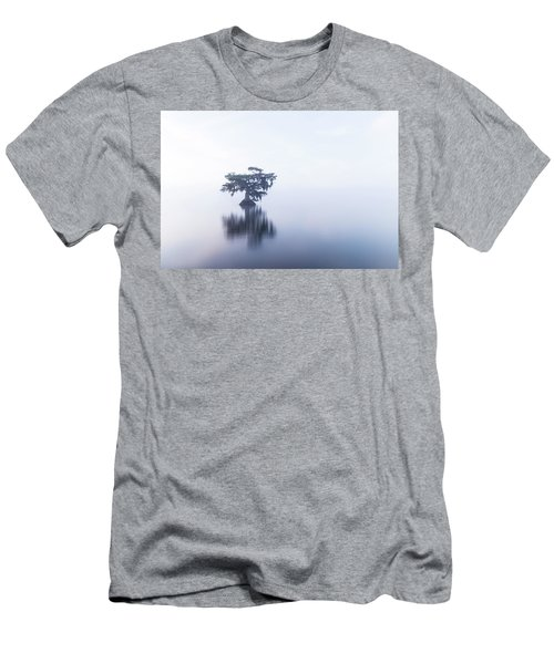 Cypress In Heavy Fog Men's T-Shirt (Athletic Fit)