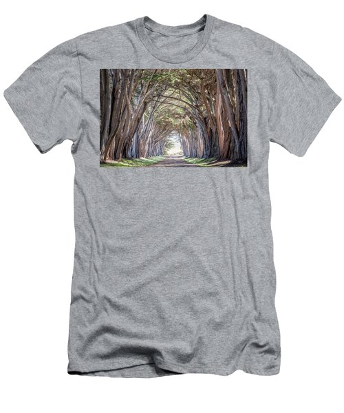 Men's T-Shirt (Slim Fit) featuring the photograph Cypress Embrace by Everet Regal