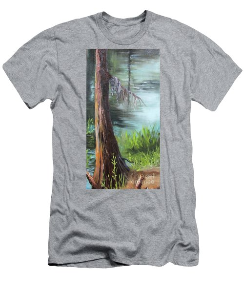 Cypress Up Close Men's T-Shirt (Slim Fit)