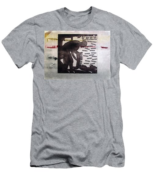 D U Rounds Project, Print 8 Men's T-Shirt (Athletic Fit)