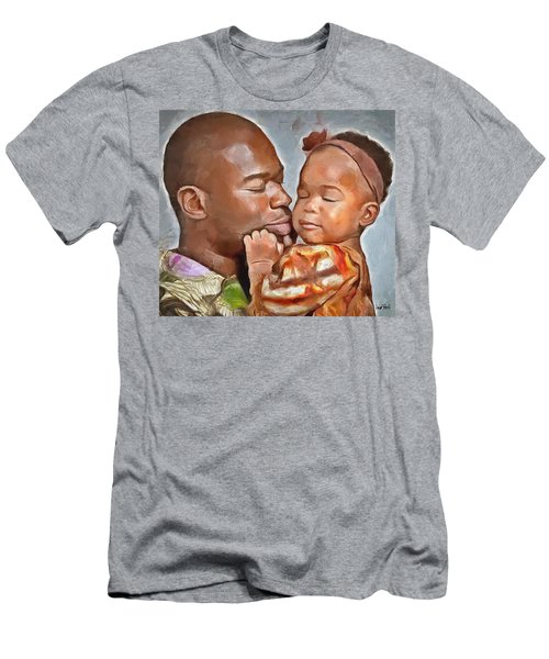 Daddy's Girl Men's T-Shirt (Slim Fit) by Wayne Pascall