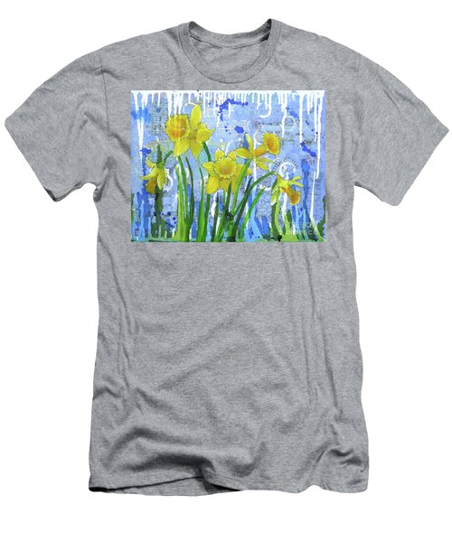 Daffodil Ding Dongs Men's T-Shirt (Athletic Fit)