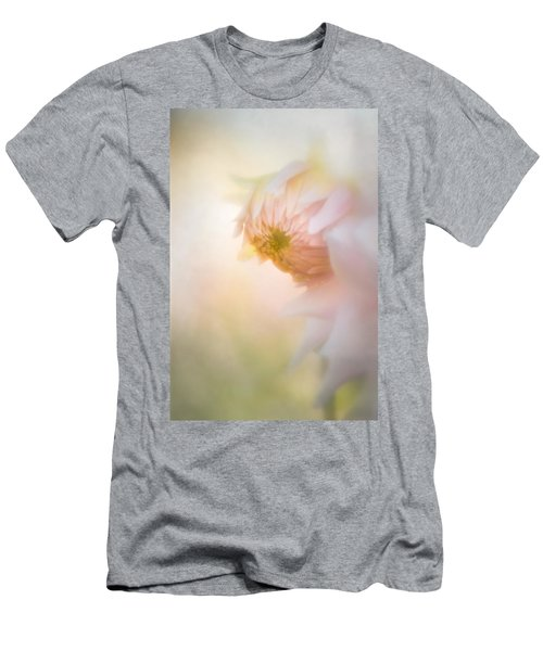 Dahlia In The Soft Morning Mist Men's T-Shirt (Athletic Fit)