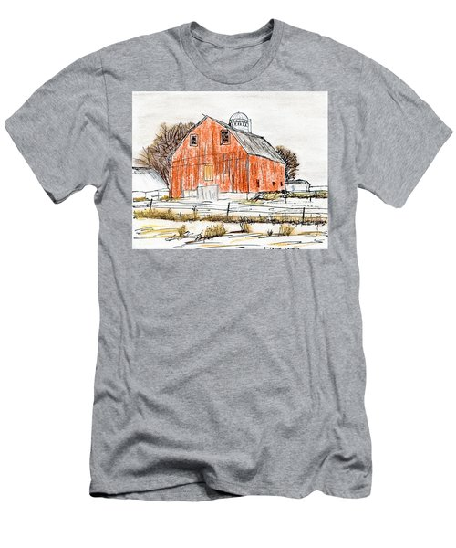 Dairy Barn Men's T-Shirt (Slim Fit) by R Kyllo