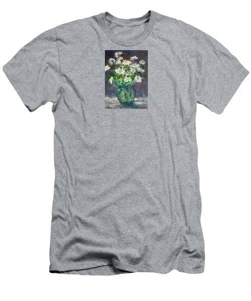 Daises Men's T-Shirt (Slim Fit) by Jill Musser