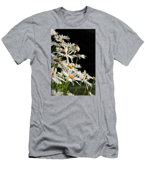 Daisies Men's T-Shirt (Slim Fit) by Dorothy Cunningham