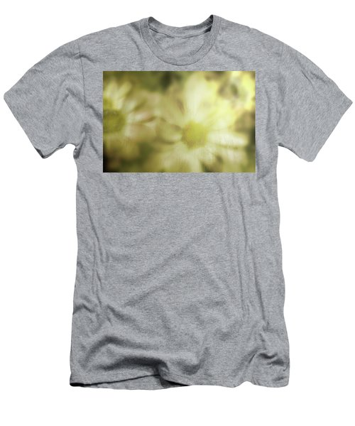 Men's T-Shirt (Slim Fit) featuring the photograph Daisies by Gray  Artus