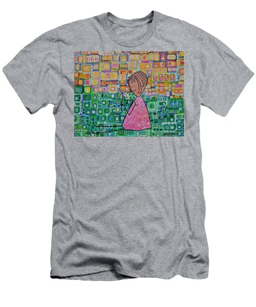 Daisy Men's T-Shirt (Slim Fit) by Donna Howard