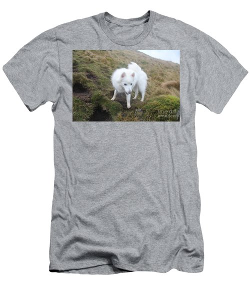 Men's T-Shirt (Slim Fit) featuring the photograph Daisy - Japanees Spits by David Grant