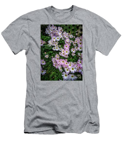 Daisy Patch Men's T-Shirt (Slim Fit) by David Smith