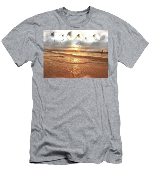 Men's T-Shirt (Slim Fit) featuring the photograph Dali, Here In Brazil by Beto Machado