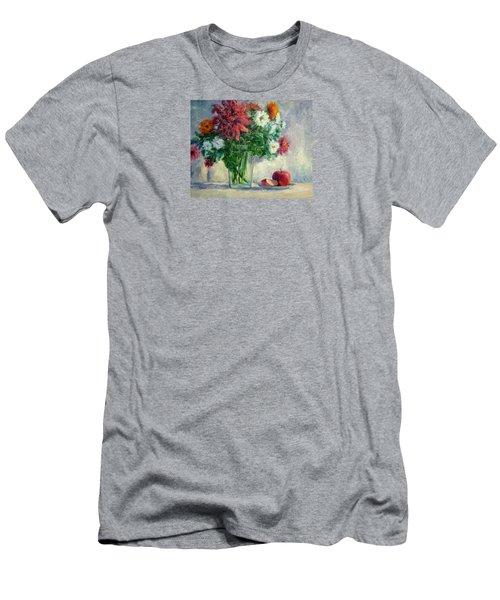 Dalias Men's T-Shirt (Slim Fit) by Jill Musser