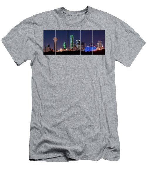 Dallas Png Transparency 031018 Men's T-Shirt (Athletic Fit)
