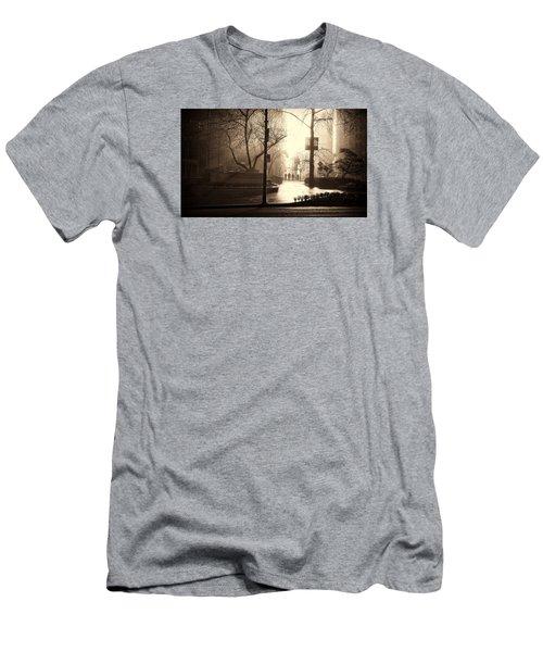 Damp Dawn Men's T-Shirt (Athletic Fit)