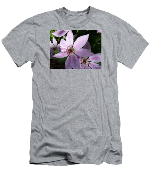 Dance Of The Clematis Men's T-Shirt (Athletic Fit)