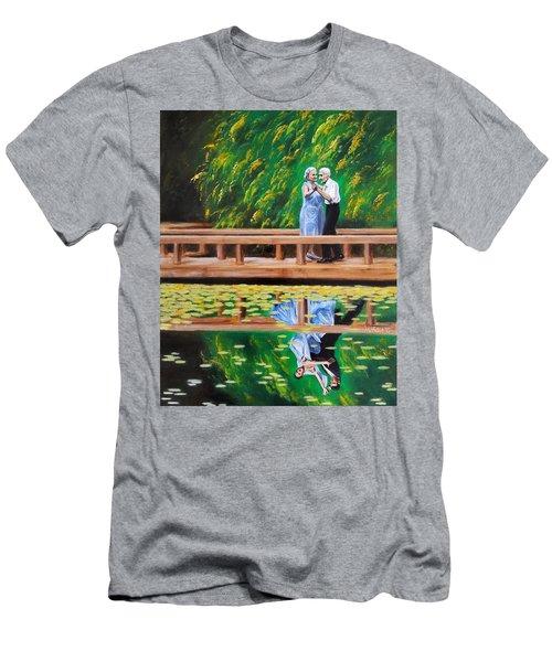 Dance Reflection Men's T-Shirt (Slim Fit) by Jason Marsh