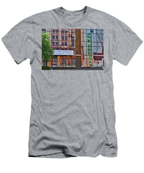 Men's T-Shirt (Slim Fit) featuring the photograph Dance by Skip Willits