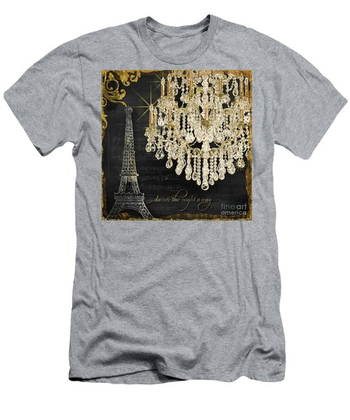 Men's T-Shirt (Athletic Fit) featuring the mixed media Dance The Night Away 1 by Audrey Jeanne Roberts