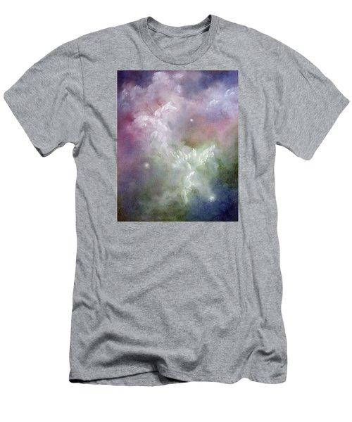 Dancing Angels Men's T-Shirt (Slim Fit) by Marina Petro