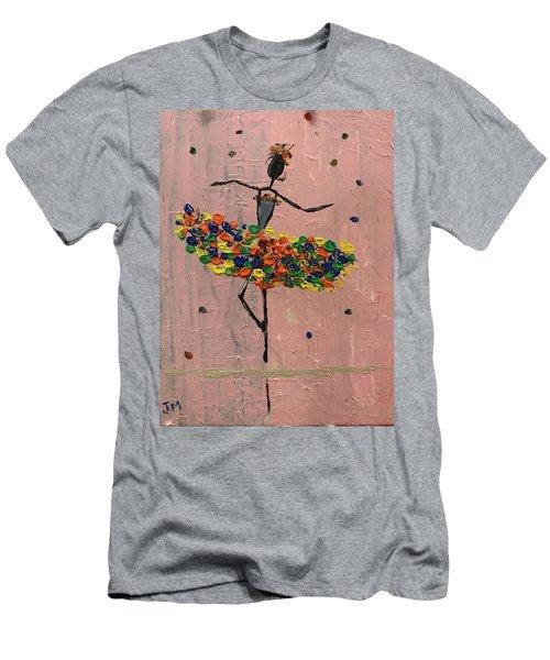 Dancing Girl Men's T-Shirt (Athletic Fit)