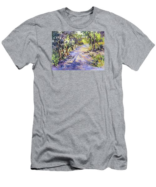 Dappled Morning Walk Men's T-Shirt (Athletic Fit)
