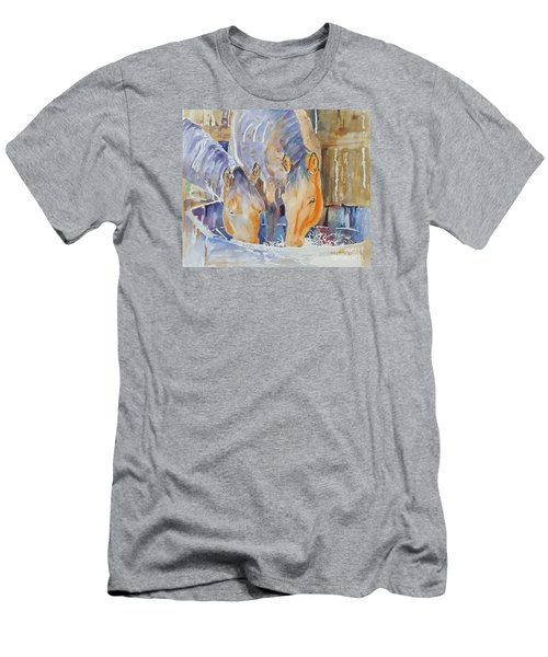 Dappled Sunlight Men's T-Shirt (Slim Fit) by Mary Haley-Rocks