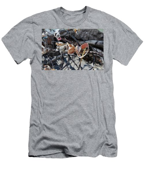 Men's T-Shirt (Athletic Fit) featuring the photograph Dare To Touch by Michiale Schneider