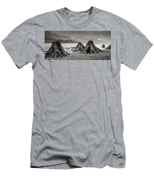 Dark Lake Men's T-Shirt (Athletic Fit)