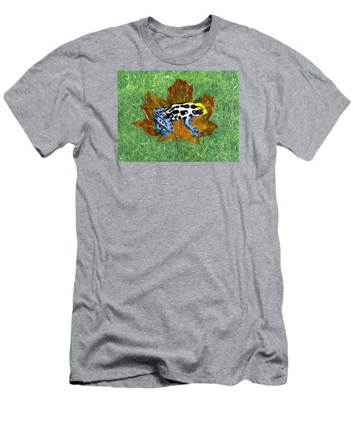 Dart Poison Frog Men's T-Shirt (Athletic Fit)