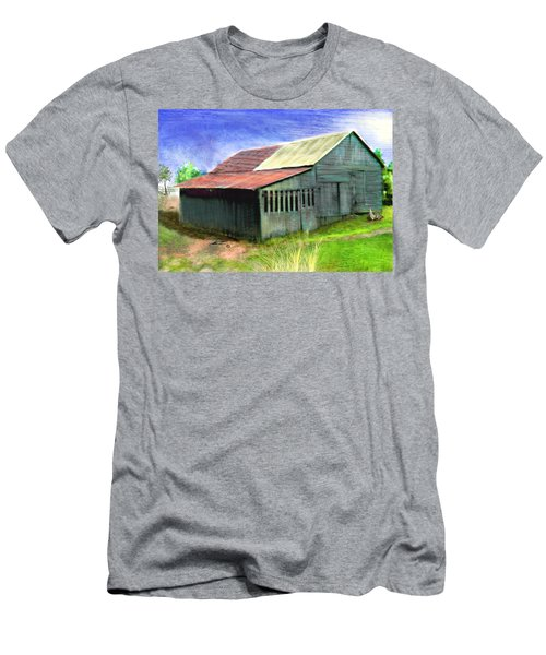Dave's Barn Men's T-Shirt (Athletic Fit)