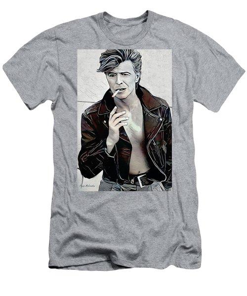 David Bowie Men's T-Shirt (Athletic Fit)