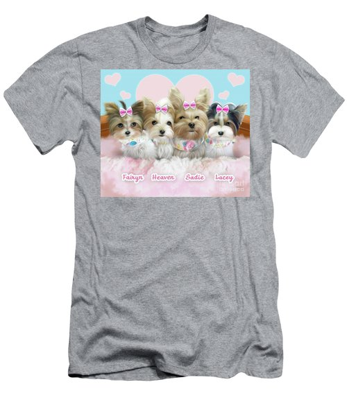 Davidson's Furbabies Men's T-Shirt (Athletic Fit)