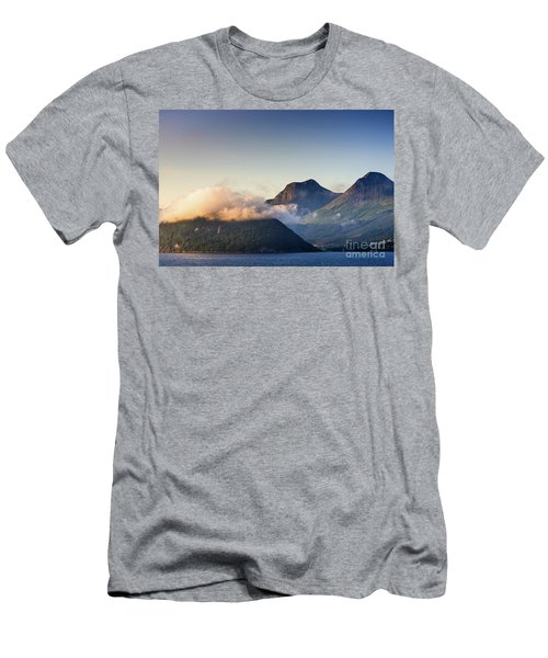 Dawn Along The Nordfjord  Men's T-Shirt (Athletic Fit)