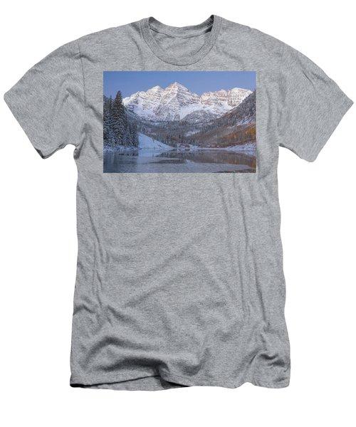 Dawn At Maroon Bells 2 Men's T-Shirt (Athletic Fit)