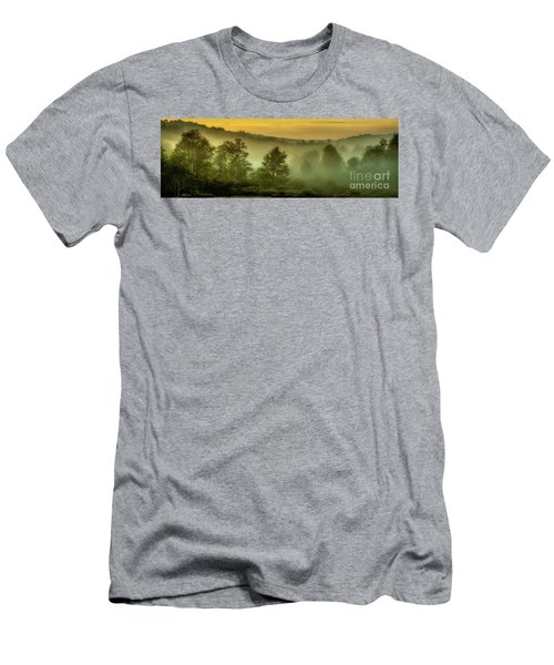 Men's T-Shirt (Slim Fit) featuring the photograph Dawn At Wildlife Management Area by Thomas R Fletcher