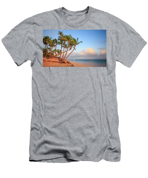 Men's T-Shirt (Athletic Fit) featuring the photograph Dawn In Punta Cana by Adam Romanowicz