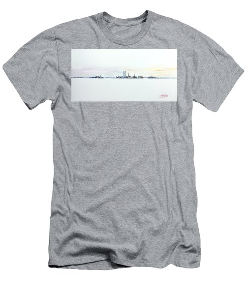 Dawn New York City Men's T-Shirt (Athletic Fit)